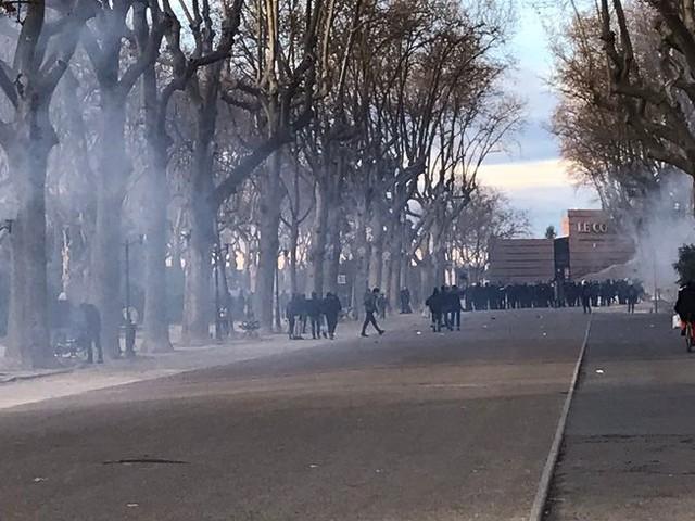 Montpellier : des violences et interpellations en fin de manifestation contre la loi de sécurité globale
