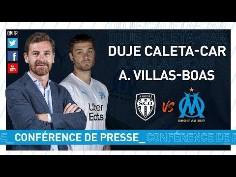 Les mots de Caleta-Car et Villas-Boas avant Angers – OM