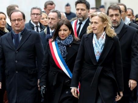 """Attentats de janvier 2015: cinq ans après, des hommages pour """"ne pas oublier"""""""