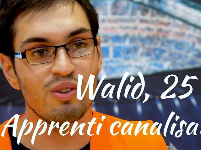 [Vidéo] Walid, apprenti canalisateur