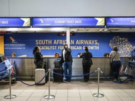 Nouveau plan de sauvetage pour South African Airways pour éviter son «effondrement»