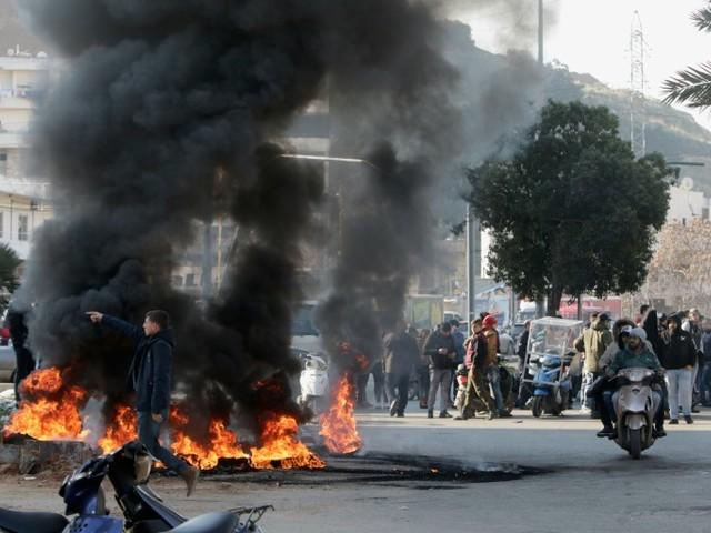"""""""Semaine de la colère"""" au Liban, les manifestants de nouveau dans la rue"""