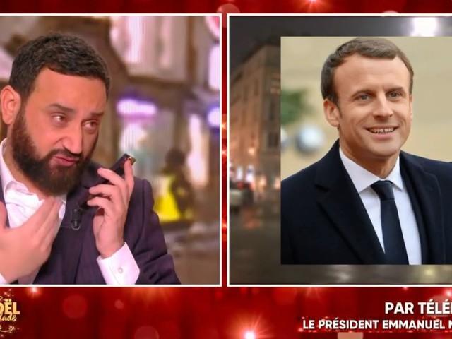 Cyril Hanouna appelle Emmanuel Macron en direct pour son anniversaire