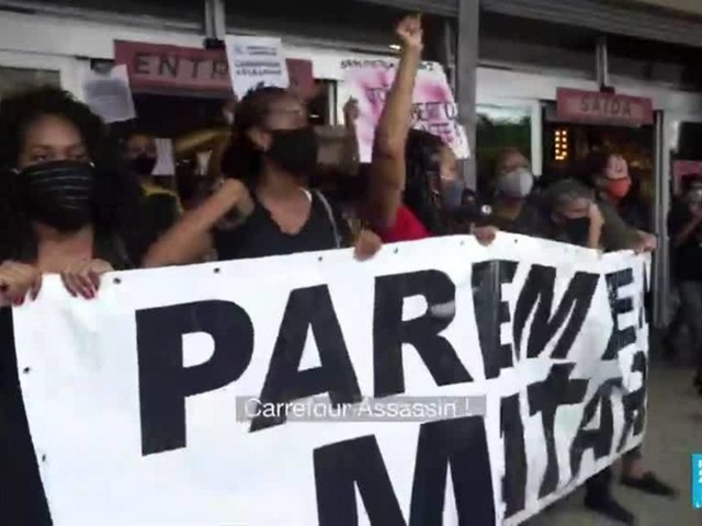 Après la mort d'un homme noir battu à mort au Brésil, des manifestations quotidiennes au Brésil