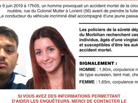Enfant fauché à Lorient, en Bretagne: la police française diffuse un avis de recherche