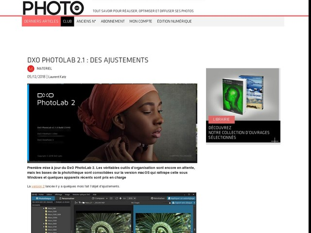 DxO PhotoLab 2.1 : des ajustements