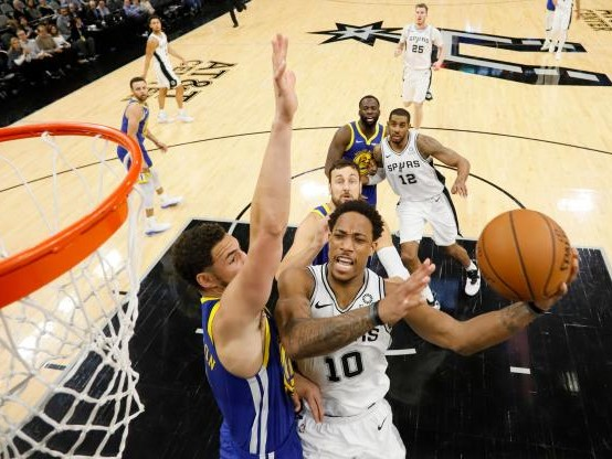 Basket - NBA - Les San Antonio Spurs ont étouffé Golden State