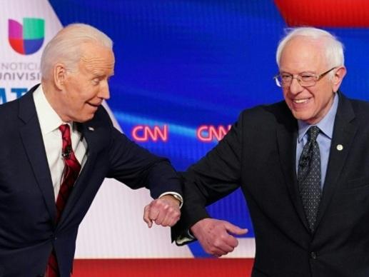 Pour battre Trump, Sanders se rallie à la candidature de son ex-rival Biden