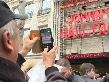 Pour rendre hommage à Johnny Hallyday, l'Olympia fait le plein
