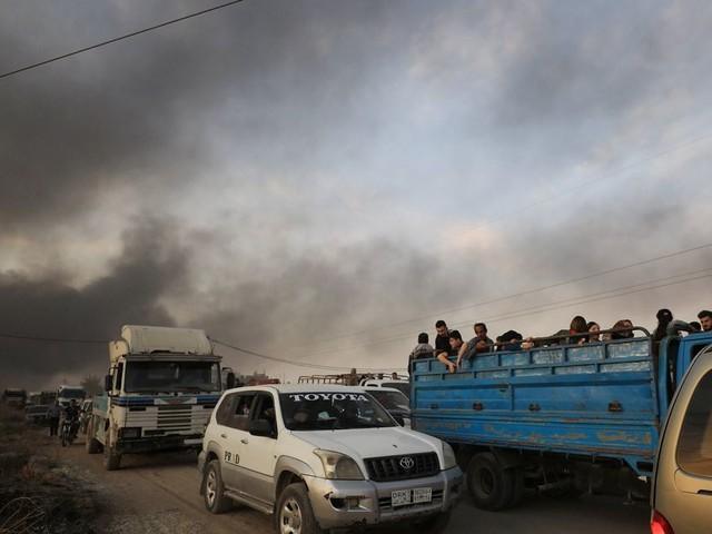 Les images de l'attaque de la Turquie en Syrie contre les Kurdes