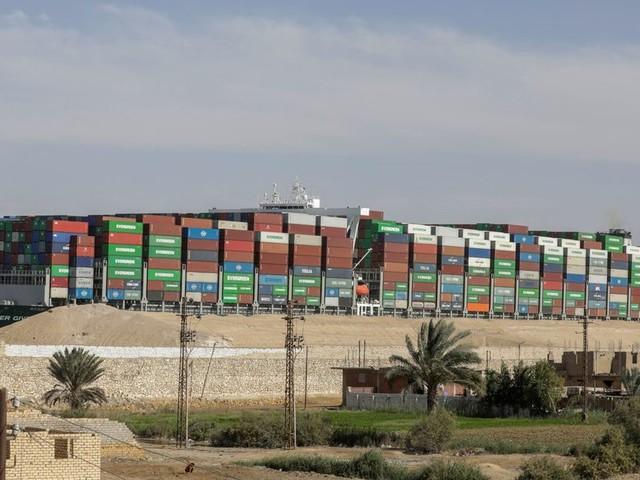 Le porte-conteneurs Ever Given va pouvoir quitter l'Égypte