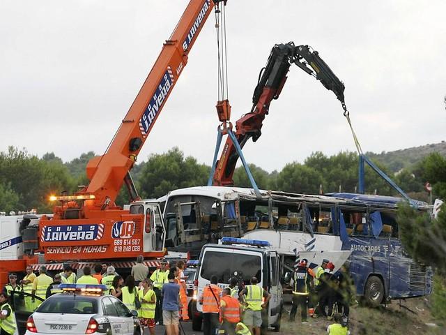 Espagne: Une compagnie de transport sur le banc des accusés 10 ans après l'accident ayant coûté la vie à des Marocains