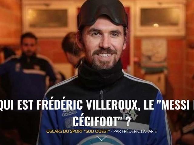 """L'Édition du soir – Qui est Frédéric Villeroux, le """"Messi du Cécifoot"""" ?"""