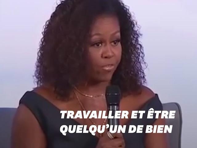 Michelle Obama explique comment elle tente de combattre le racisme