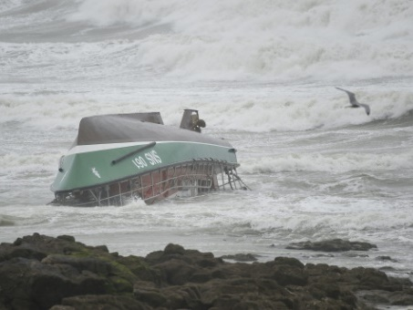 Chavirage d'un bateau de secours de la SNSM: un des rescapés toujours hospitalisé