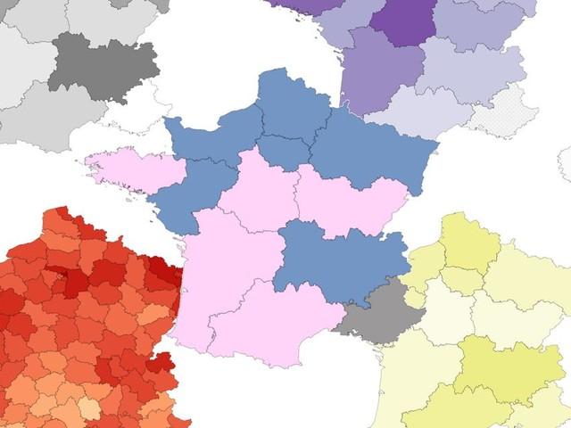 Résultats des régionales 2021: cinq cartes pour tirer les enseignements du premier tour