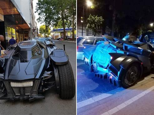 Une incroyable Lamborghini transformée en Batmobile traverse la Belgique et... se fait contrôler par la police