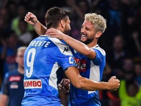 Les Belges à l'étranger - Dries Mertens, auteur d'un doublé, mène Naples vers sa première victoire à domicile