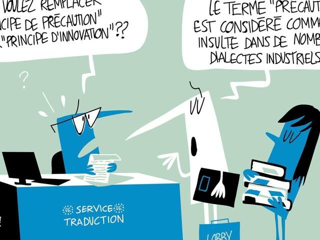 Un «principe d'innovation» porté par l'industrie chimique pourrait entrer dans le droit européen