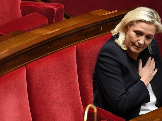 """Christian Jacob, c'est """"l'Ancien monde"""", selon Marine Le Pen"""
