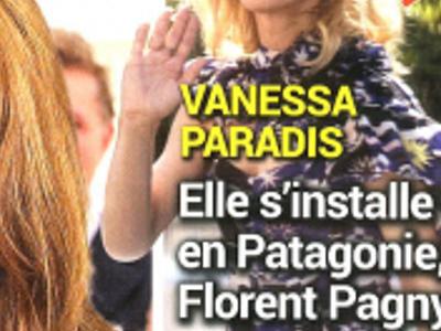 Vanessa Paradis, en Patagonie avec Florent Pagny, sa vérité (photo)