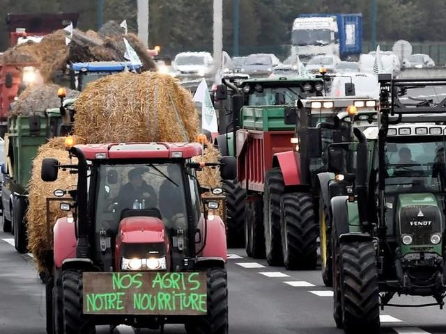 Toulouse. Les agriculteurs en colère ont perturbé la circulation et occupé des ronds-points