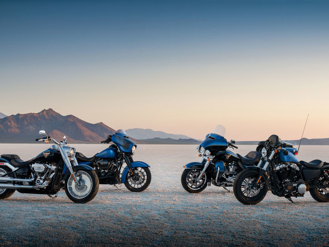 Editions limitées Harley-Davidson 115th Anniversary