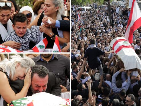 Un manifestant, père de 3 enfants, tué par un militaire au Liban: le peuple en colère