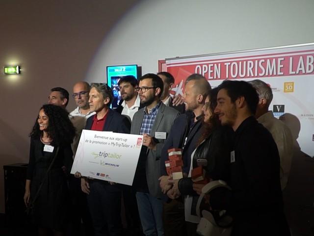 [Vidéo] Retour sur la soirée de passation des startups de l'Open Tourisme Lab