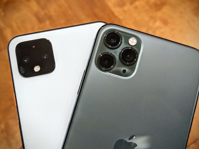 Rapidité : le Pixel 4 XL a du mal face à l'iPhone 11 Pro Max