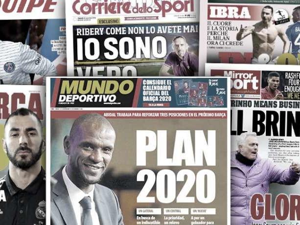 L'Angleterre en folie avec le retour de José Mourinho, le plan du Barça pour 2020