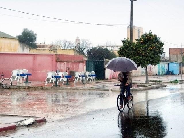 Météo: Des averses orageuses localement fortes jusqu'à ce soir dans plusieurs régions du royaume