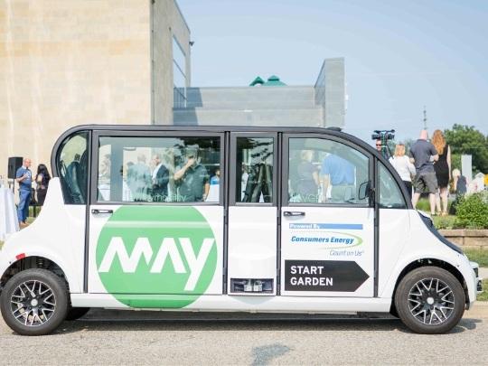 Navettes autonomes: Toyota mise sur l'Américain May Mobility