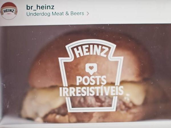 Et si on pouvait manger les Insta stories ? Heinz l'a fait !