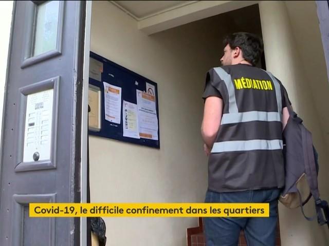 Coronavirus : le confinement dans une cité de Bordeaux