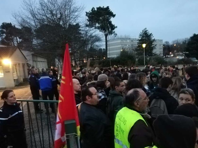 Tension devant le lycée Jean-Moulin de Langon : une femme légèrement blessée