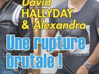 David Hallyday, zone orageuse avec Alexandra Pastor, la photo qui en dit long