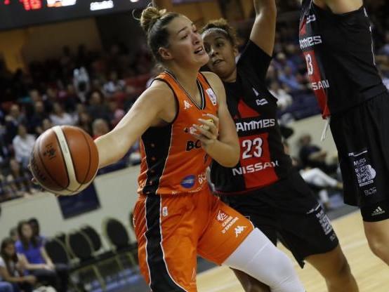 Basket - Euroligue (F) - Euroligue : Bourges s'impose face à Prague