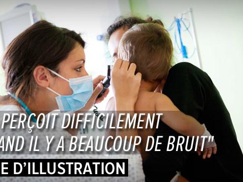 """Devenu sourd après une méningite, Isaac, un petit Bruxellois entend via des implants cochléaires: """"Il a fallu qu'il soit fort"""""""