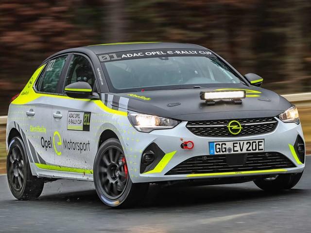 Vidéo : l'Opel Corsa-e Rally en développement !
