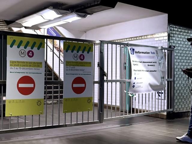 RATP: trafic toujours très perturbé mercredi avec 10 lignes de métro fermées
