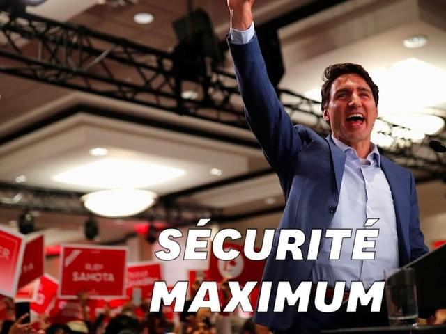 Canada: Pourquoi Justin Trudeau avait un gilet pare-balles à son dernier meeting