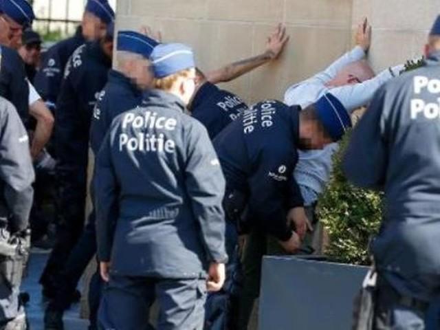 Marche de l'extrême droite sur Bruxelles: 43 personnes arrêtées administrativement