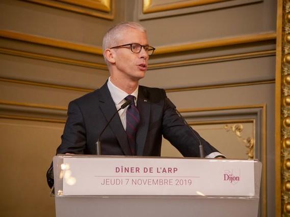 A Dijon, les messages de Franck Riester aux professionnels du cinéma