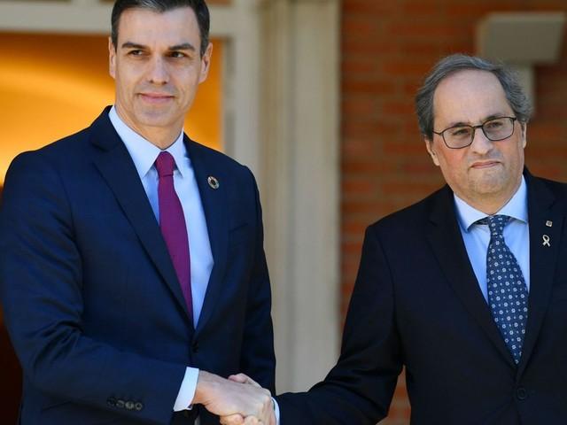 Espagne: le dialogue sur la question catalane (entre gouvernement central et catalan) s'est ouvert à Madrid
