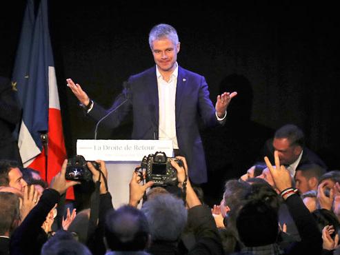 France: Laurent Wauquiez a été élu président du parti Les Républicains, l'ex-UMP