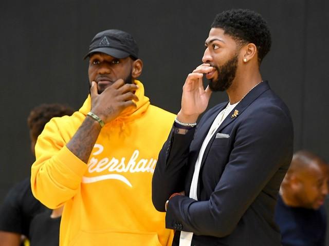 Sale nouvelle pour les Lakers