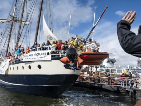 A la poursuite de la COP25, l'improbable escale de jeunes Européens en Martinique
