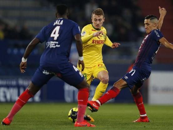 Foot - L1 - Ligue 1 : le très bon coup de Nantes, victorieux à Caen