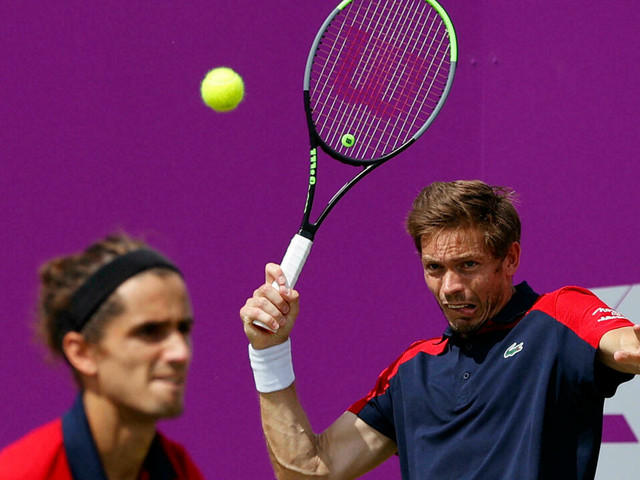 Tennis: la paire Herbert/Mahut sortie d'entrée aux JO